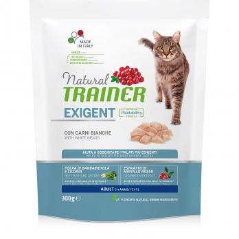 Trainer Natural Exigent сух.д/привередливых кошек со свежим белым мясом