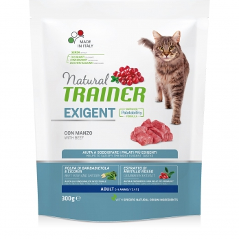 Trainer Natural Exigent сух.д/привередливых кошек с Говядиной и свежей Курицей