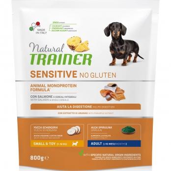 Trainer Sensitive No Gluten Adult Mini сух.д/собак мелких пород Лосось 800г