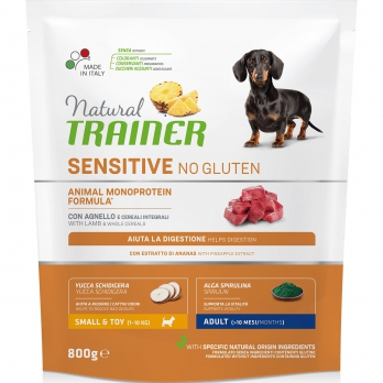 Trainer Natural Sensitive No Gluten Adult Mini сух.д/собак мелких пород Ягненок