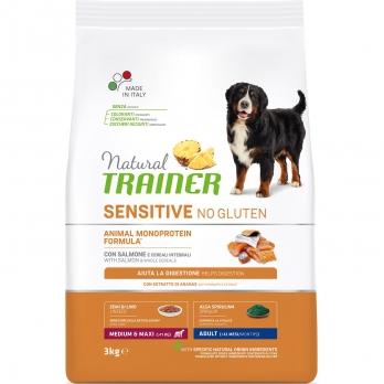 Trainer Natural Sensitive No Gluten Adult Medium & Maxi сух.д/собак средних и крупных пород Лосось