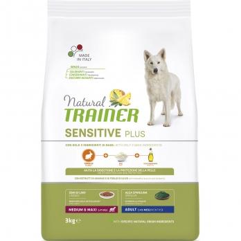 Trainer Natural Sensitive Plus Adult Medium & Maxi сух.д/собак средних и крупных пород Кролик