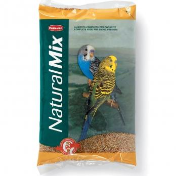 Padovan Naturalmix Cocorite Корм д/волнистых попугаев 1кг