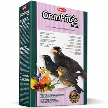 Padovan GranPatee fruits Корм д/насекомоядных птиц с фруктами 1кг