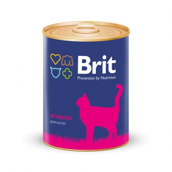 Brit консервы для котят Ягненок 340г