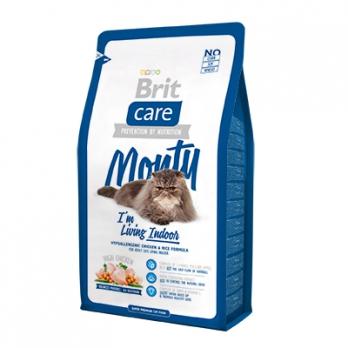 Brit Care Monty Indoor сухой корм для кошек живущих в помещении