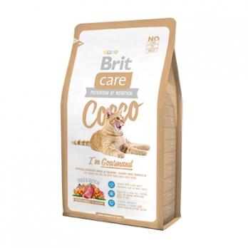 Brit Care Cocco Gourmand корм беззерновой для кошек-гурманов