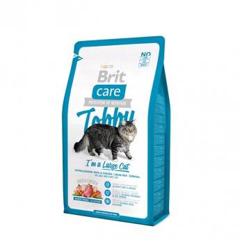Brit Care Tobby сухой корм для крупных кошек 400г