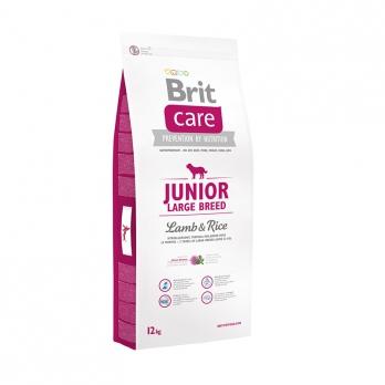 Brit Care Junior Large Breed сухой корм для щенков крупных пород Ягненок/Рис