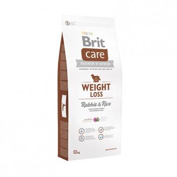 Brit Care Weight Loss сухой корм для собак склонных к полноте Кролик с рисом
