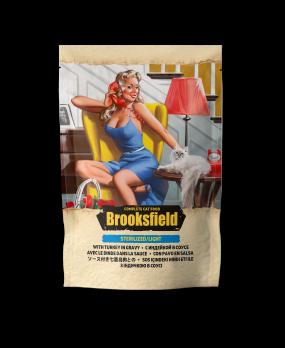 Brooksfield Sterilized/Light Turkey пауч для кошек Индейка в соусе 85г