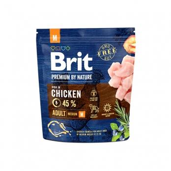 Brit Premium By Nature Adult M сухой корм для взрослых собак средних пород