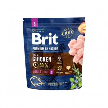 Brit Premium By Nature Adult S сухой корм для взрослых собак мелких пород