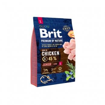 Brit Premium By Nature Junior L сухой корм для молодых собак крупных пород