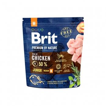 Brit Premium By Nature Junior M сухой корм для молодых собак средних пород