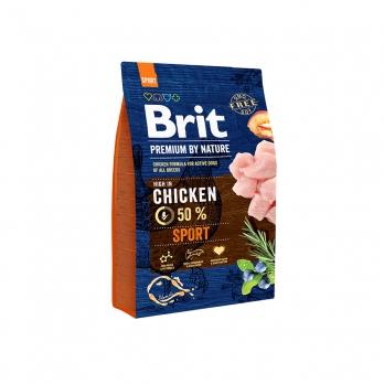 Brit Premium By Nature Sport сухой корм для взрослых собак с высокими затратами энергии