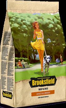 Brooksfield Adult All Breeds Beef & Rice сухой корм для собак Говядина/рис