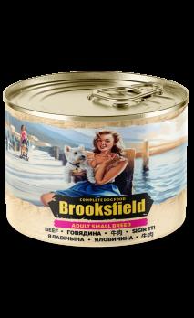 Brooksfield Adult Small Breed консервы для собак мелких пород Говядина 200г