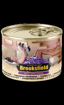 Brooksfield Adult Small Breed консервы для собак мелких пород Говядина с Ягнёнком 200г