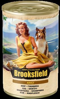 Brooksfield Adult консервы для собак Говядина 400г