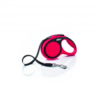Flexi Рулетка-ремень для собак до 12кг, 3м, голубая  (New Comfort XS Tape 3 m, blue)