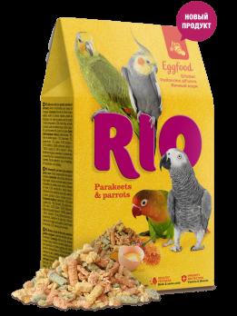 Рио Яичный корм для средних и крупных попугаев 250г