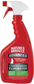 8in1 уничтожитель пятен и запахов от кошек NM Advanced с усиленной формулой, спрей 945 мл (замена 5969255)