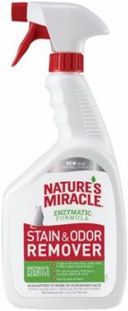 8in1 уничтожитель пятен и запахов от кошек NM Remover Spray спрей 945 мл (замена 5969446)