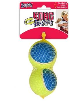 KONG игрушка для собак Ultra Squeak мячик большой 2 шт. в уп. 8 см