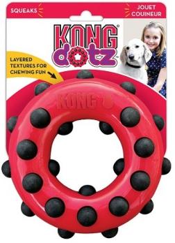 KONG игрушка для собак Dotz кольцо