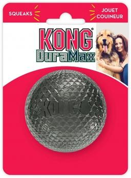 KONG игрушка для собак DuraMax Мячик М, с пищалкой