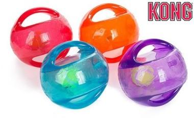 KONG игрушка для собак Джумблер Мячик средние и крупные породы, синтетическая резина, цвета в ассортименте
