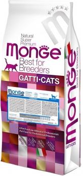 Monge PFB Cat Urinary корм для кошек профилактика МКБ 10 кг