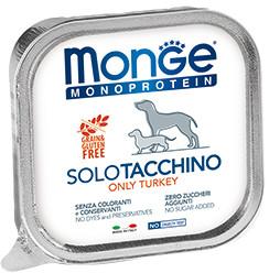Monge Dog Monoprotein Solo B&S консервы для собак паштет из индейки
