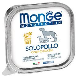 Monge Dog Monoprotein Solo B&S консервы для собак паштет из курицы
