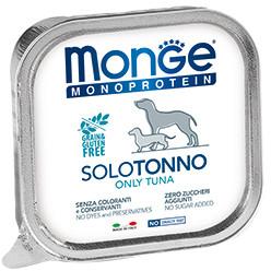 Monge Dog Monoprotein Solo B&S консервы для собак паштет из тунца 150г