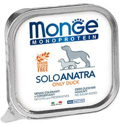 Monge Dog Monoprotein Solo B&S консервы для собак паштет из утки