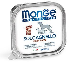 Monge Dog Monoprotein Solo B&S консервы для собак паштет из ягненка