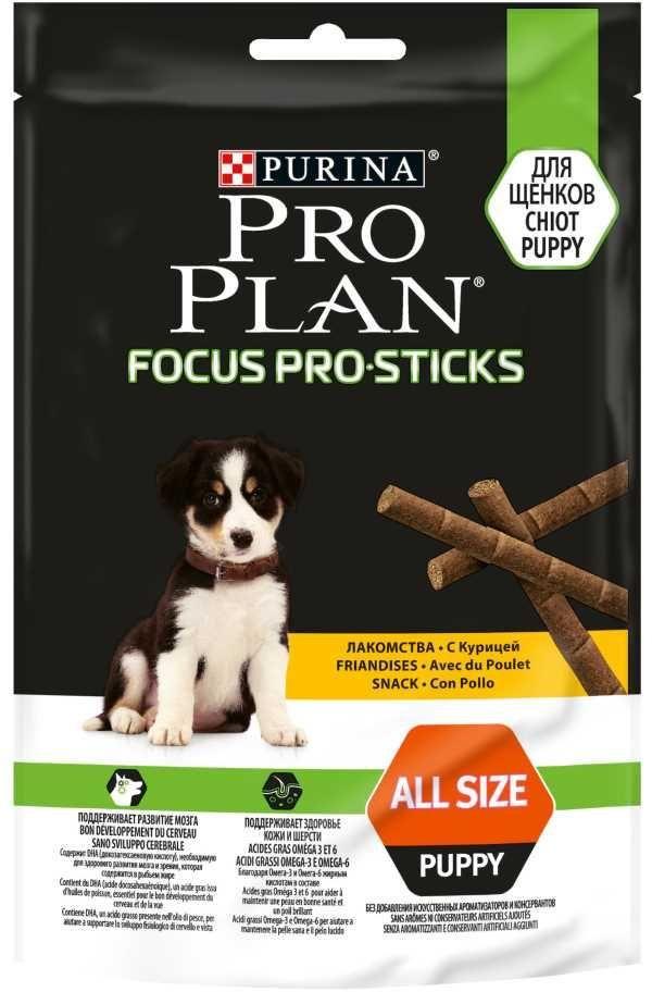 Pro Plan FocusPro Sticks снек для щенков с курицей 126г