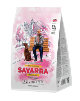 Savarra Adult All Breeds Lamb with Rice сухой корм для собак Ягненок/рис
