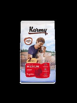 Karmy Medium Adult сухой корм для собак средних пород Индейка