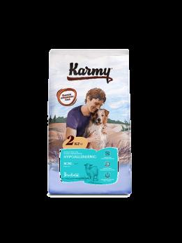 Karmy Hypoallergenic Mini сухой корм для собак мелких пород, склонных к пищевой аллергии Ягненок 2кг