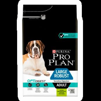Pro Plan Lardge Robust Adult для взрослых собак крупных пород с мощным телосложением с чувствительным пищеварением с ягненком и рисом