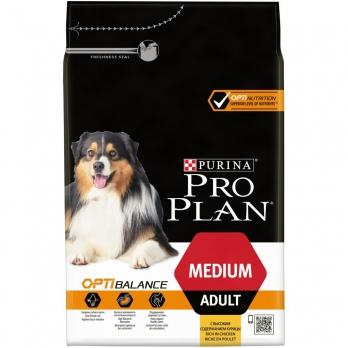 Pro Plan Medium Adult для взрослых собак средних пород с высоким содержанием курицы