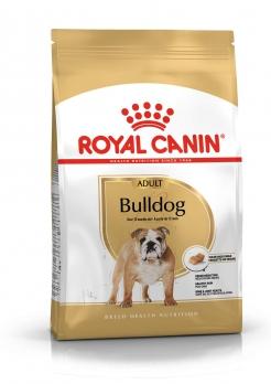 Royal Canin Bulldog для взрослого английского бульдога с 12 мес.