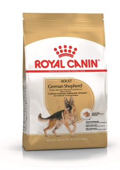 Royal Canin German Shepherd  для взрослой немецкой овчарки с 15 мес.