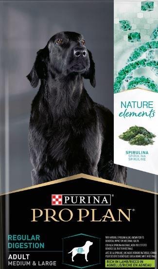 Pro Plan NATUR EL для взрослых собак средних и крупных пород ягненок