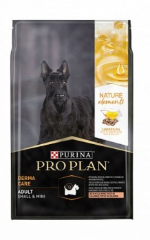 Pro Plan NATUR EL для взрослых собак мелких  пород лосось 700 г