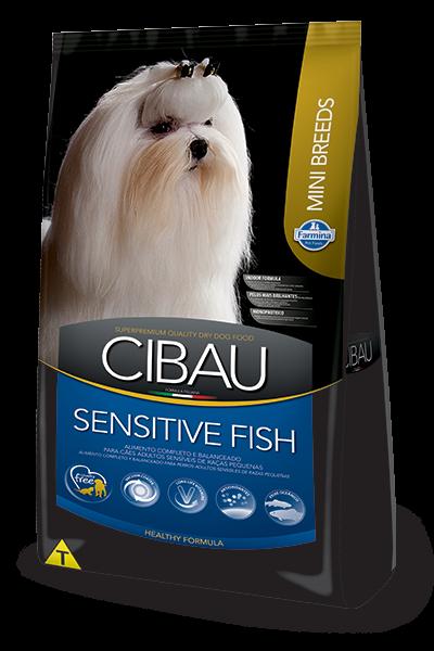 Farmina CIBAU для собак MINI сенситив, рыба