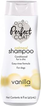 8in1 PC Natural Oatmeal шампунь для собак овсяный успокаивающий для кожи с ароматом ванили 473 мл